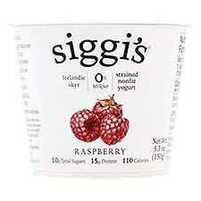 Siggi's Raspberry Yogurt, 5.3 Ounce