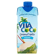 Vita Coco Coconut Water - Pure, 16.9 Fluid ounce