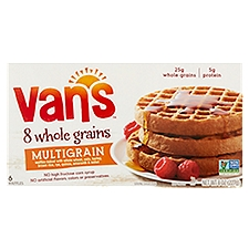 Vans Premium Waffles - Multi - Grain, 8 Ounce