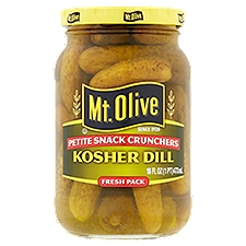 Mt. Olive Pickles - Petite Snack Crunchers Kosher Dill, 16 Fluid ounce