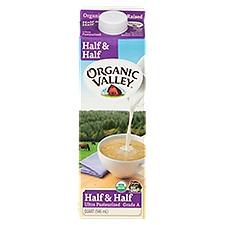 Organic Valley UHT Half & Half, 1 Each