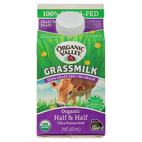 1 pint carton. 100% Grass-Fed, No Grain.