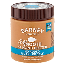 Barney Butter Bare Almond Butter Smooth, 10 Ounce