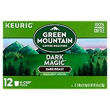 Green Mountain Coffee Dark Magic Extra Bold K-Cup Pods, 12 Each