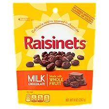 Raisinets Milk Chocolate Candy, 8 Ounce