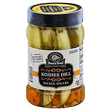 Boar's Head Kosher Dill Pickle Spears, 26 Fluid ounce