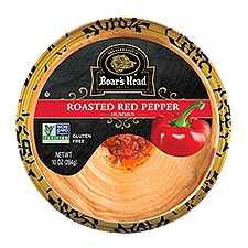 Boar's Head Roasted Red Pepper Hummus, 10 Ounce