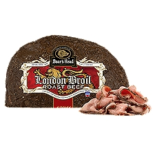 Boar's Head London Broil Cap-Off Top Round Roast Beef, 1 Pound