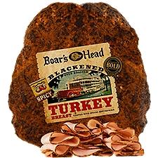 Boar's Head Blackened Oven Roasted Turkey, 1 Pound