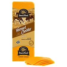 Boar's Head Yellow Vermont Cheddar Cheese, 1 Pound