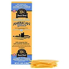 Boar's Head Lower Fat & Sodium Yellow American Cheese, 1 Pound