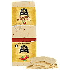 Boar's Head Monterey Jack Cheese with Jalapenos, 1 Pound